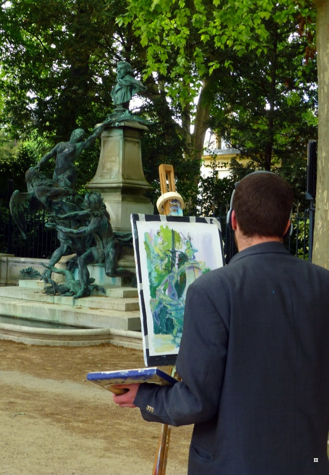 Choses vues dans le jardin du Luxembourg, à Paris - Page 3 Kimban10
