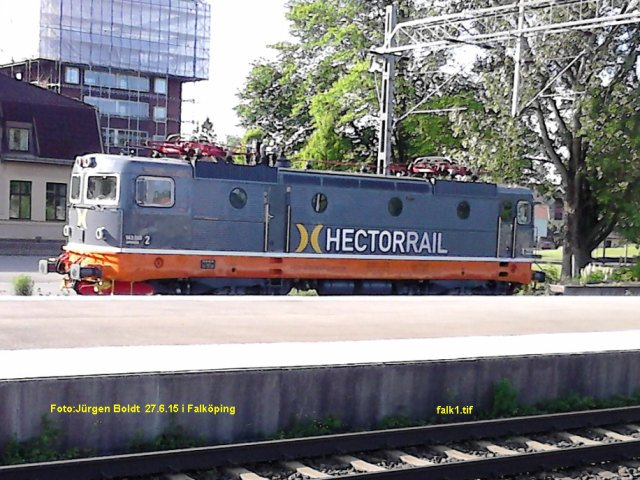 Hectorrail in Falköping Falk110