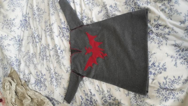 La première cotte à manches dépassées de mon bébé dragon Mydyri10