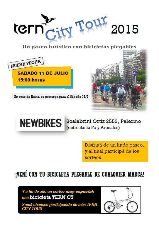 TERN CITY TOUR  **NUEVA FECHA** Sábado 11 de JULIO - 15 hs. Flyer11