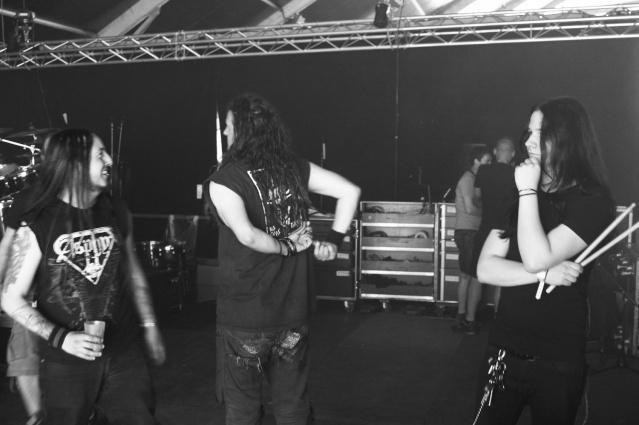 Hellfest Open Air - Clisson (France) June 19 - 2015 Backst10