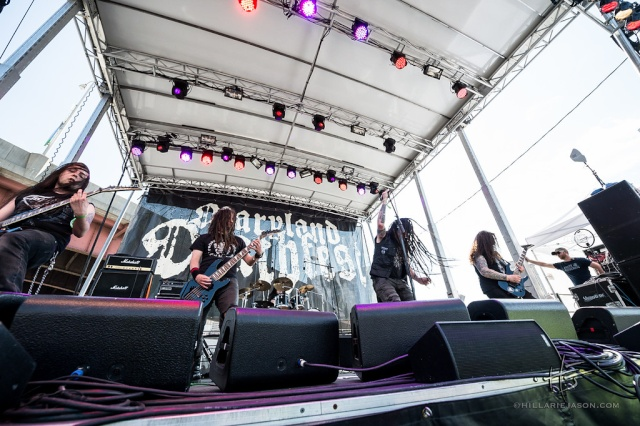 Maryland Deathfest - Baltimore (Maryland) May 22 - 2015 Band_710
