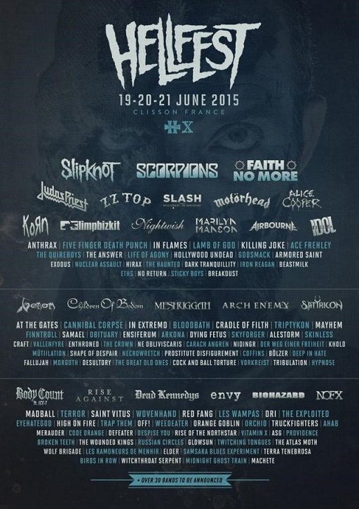 Hellfest Open Air - Clisson (France) June 19 - 2015 Laffic10