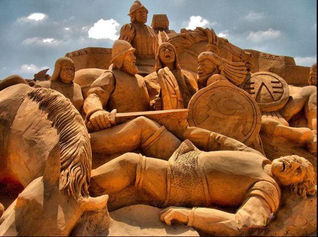 أجمل المنحوتات الرملية التي تم بنائها على الإطلاق The-be14