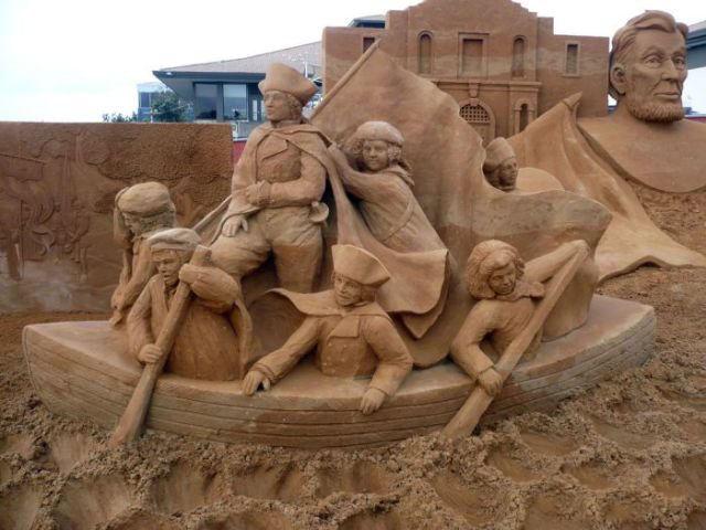 أجمل المنحوتات الرملية التي تم بنائها على الإطلاق The-be17