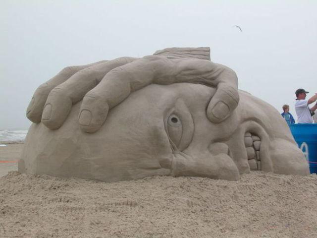 أجمل المنحوتات الرملية التي تم بنائها على الإطلاق The-be18