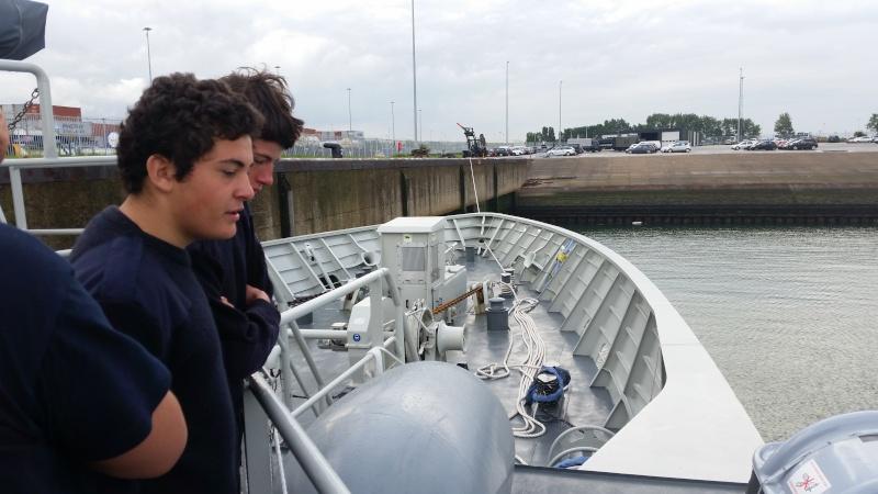 Le Camp ORKA 2015 à Zeebruge. 20150826