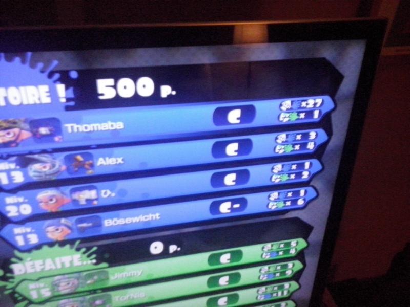 Splatoon ça splash sur Wii U ^^ ! Cam00910