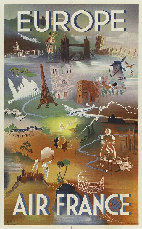 Les affiches du temps passé quand la pub s'appelait réclame .. - Page 4 Affich10