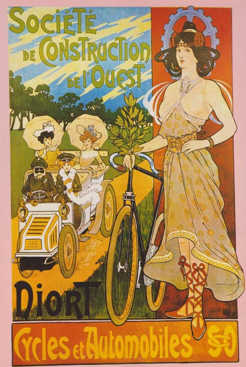 Les aniennes affiches publicitaires. - Page 2 Cycles10