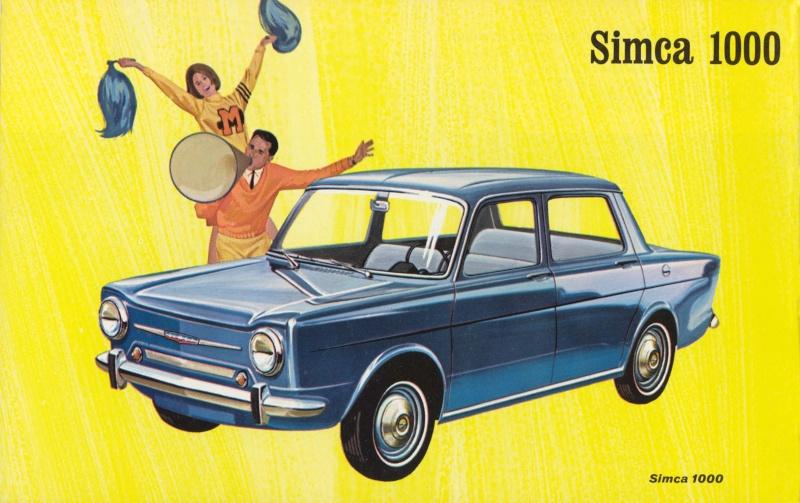 Les aniennes affiches publicitaires. - Page 2 Simca110