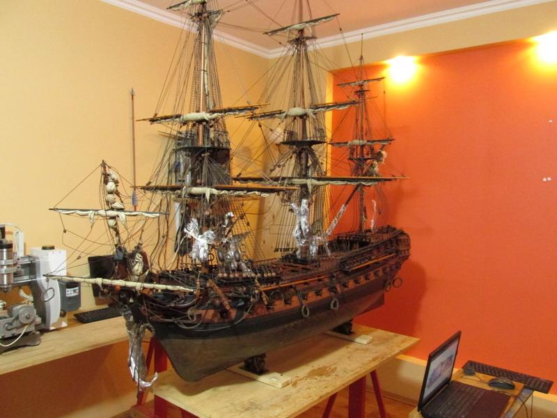HMS Cumberland 1774, 1:36  - Page 7 Img_2510