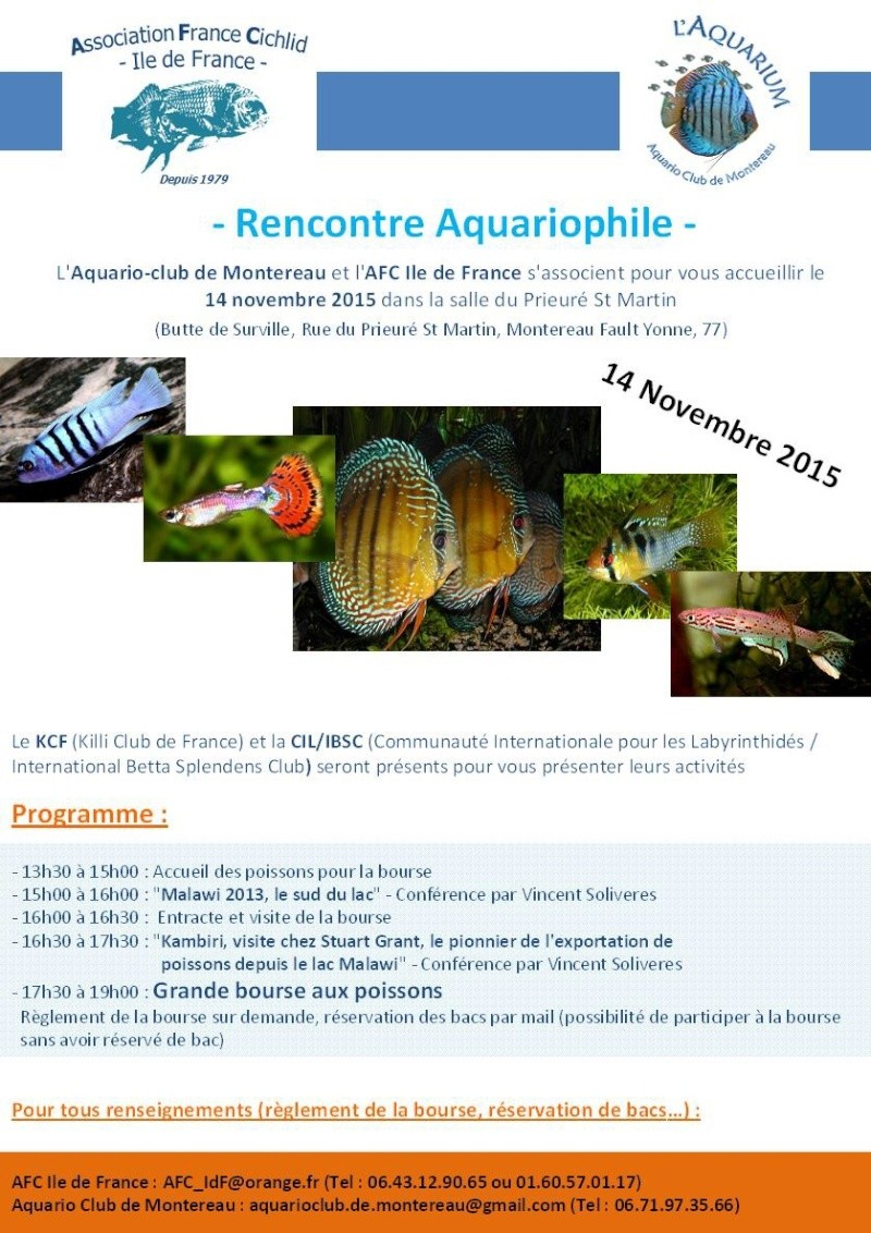 Réunion Régionale AFC Ile de France / Aqua Club de Montereau - 14 Novembre 2015 Image16