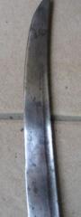 sabre briquet avec lame gravée. Img_2816