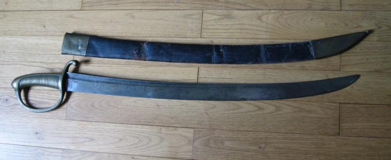 sabre briquet avec lame gravée. Img_2819
