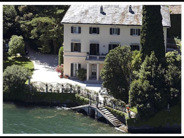Clooney Might Sell His Beloved Italian Estate for 10 Tiime What He Paid  - Page Six July 1, 2015 - Page 2 Image10