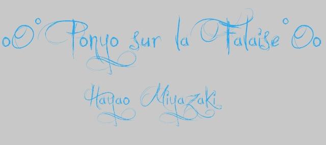 Gake no ue no Ponyo (Ponyo sur la Falaise) A8d17328