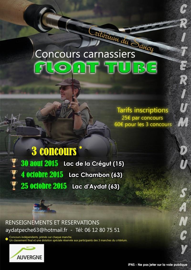Critérieum Float tube Auvergne!  Affich10
