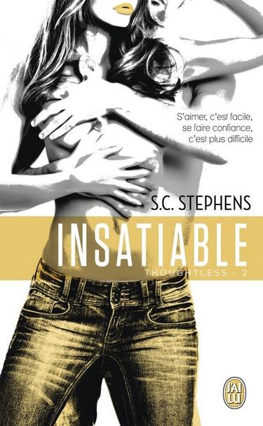 Indécise - Tome 2 : Insatiable de S.C. Stephens Insati11