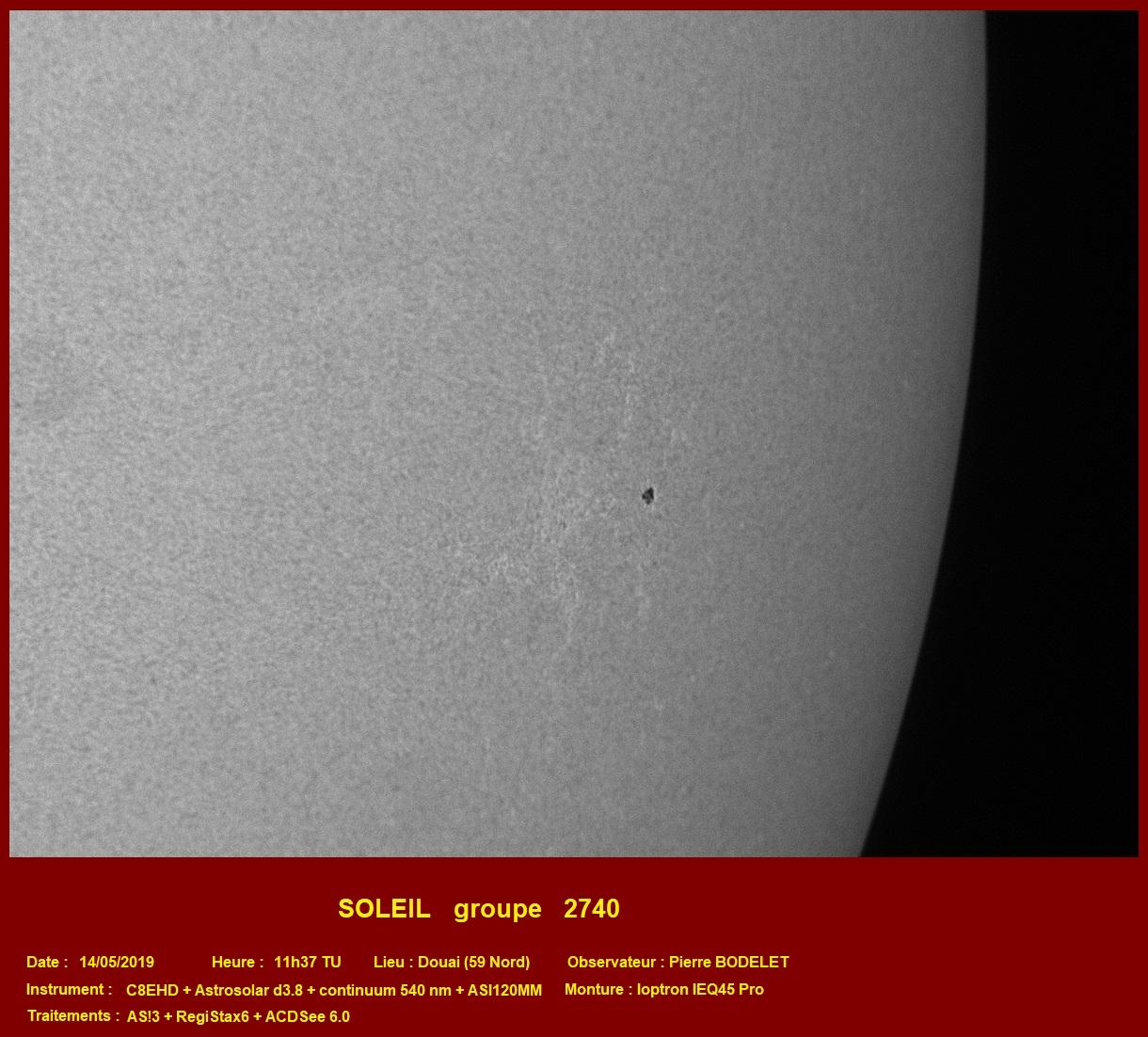 Soleil : groupes 12740 et 12741 le 14/05/2019 2019-016