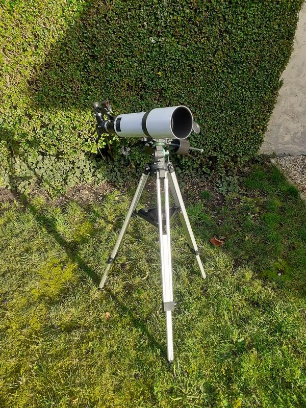 """Observation solaire en mode """"grab n go"""" avec une StaQuest 102R 20201210"""