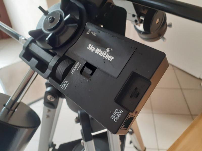 """Observation solaire en mode """"grab n go"""" avec une StaQuest 102R 20201213"""