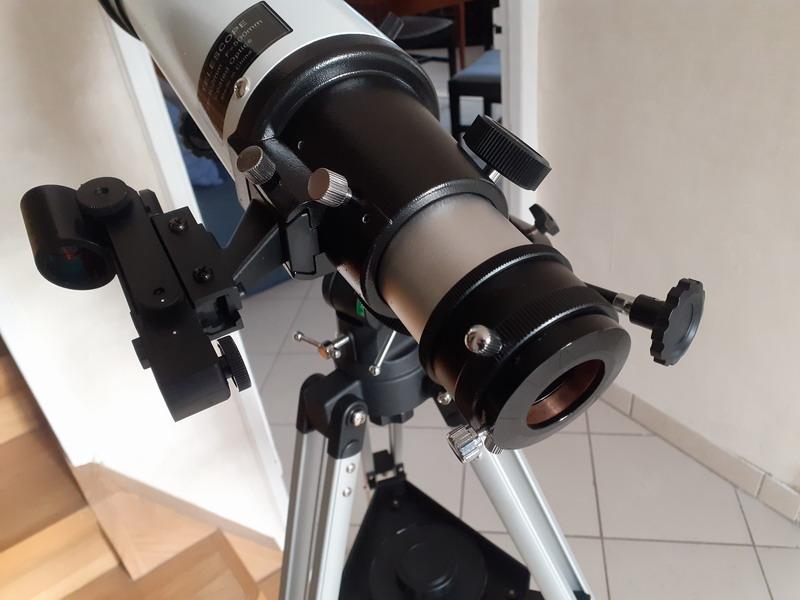 """Observation solaire en mode """"grab n go"""" avec une StaQuest 102R 20201214"""