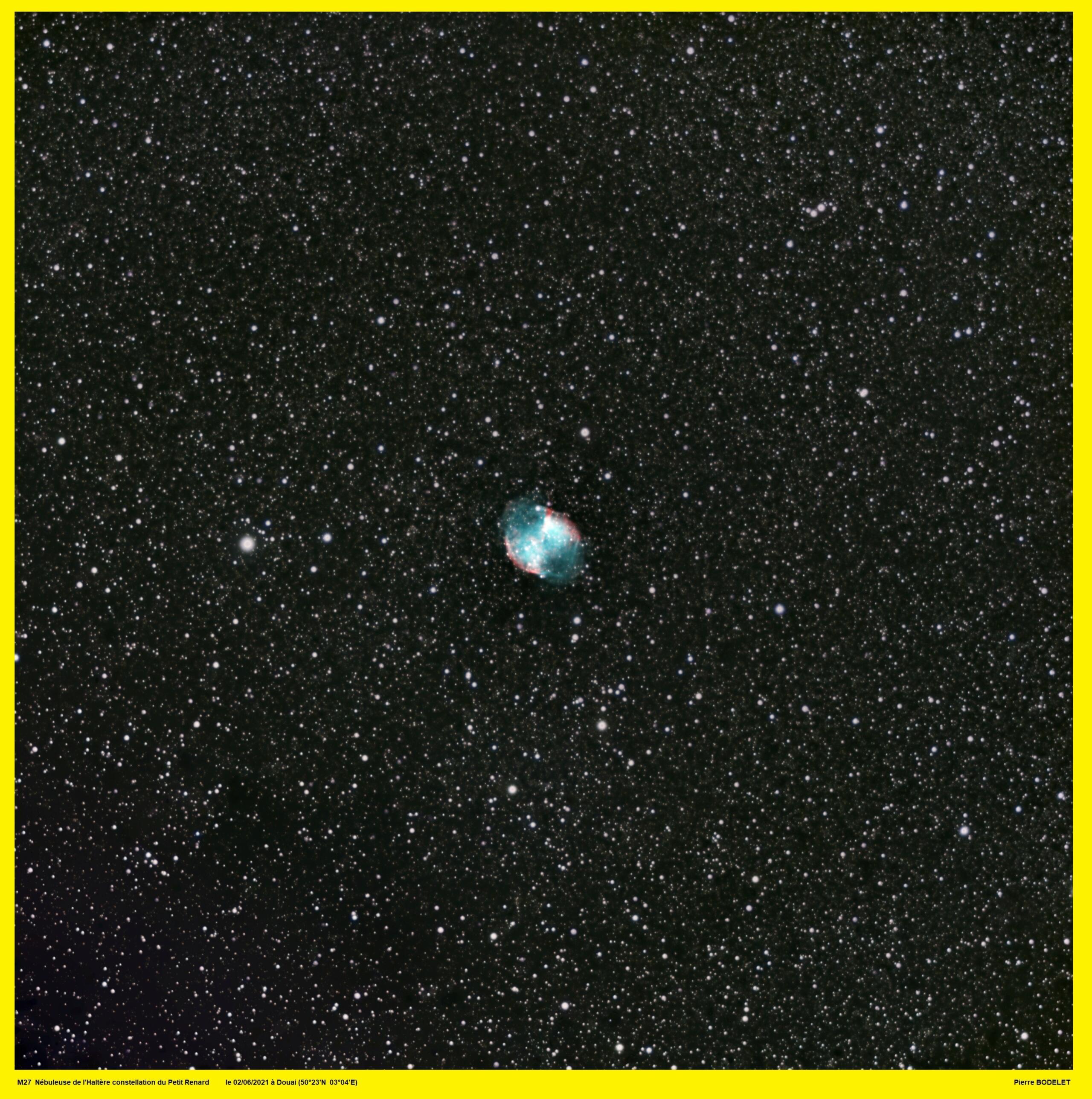 M27 : les haltères du ciel ! 20210911