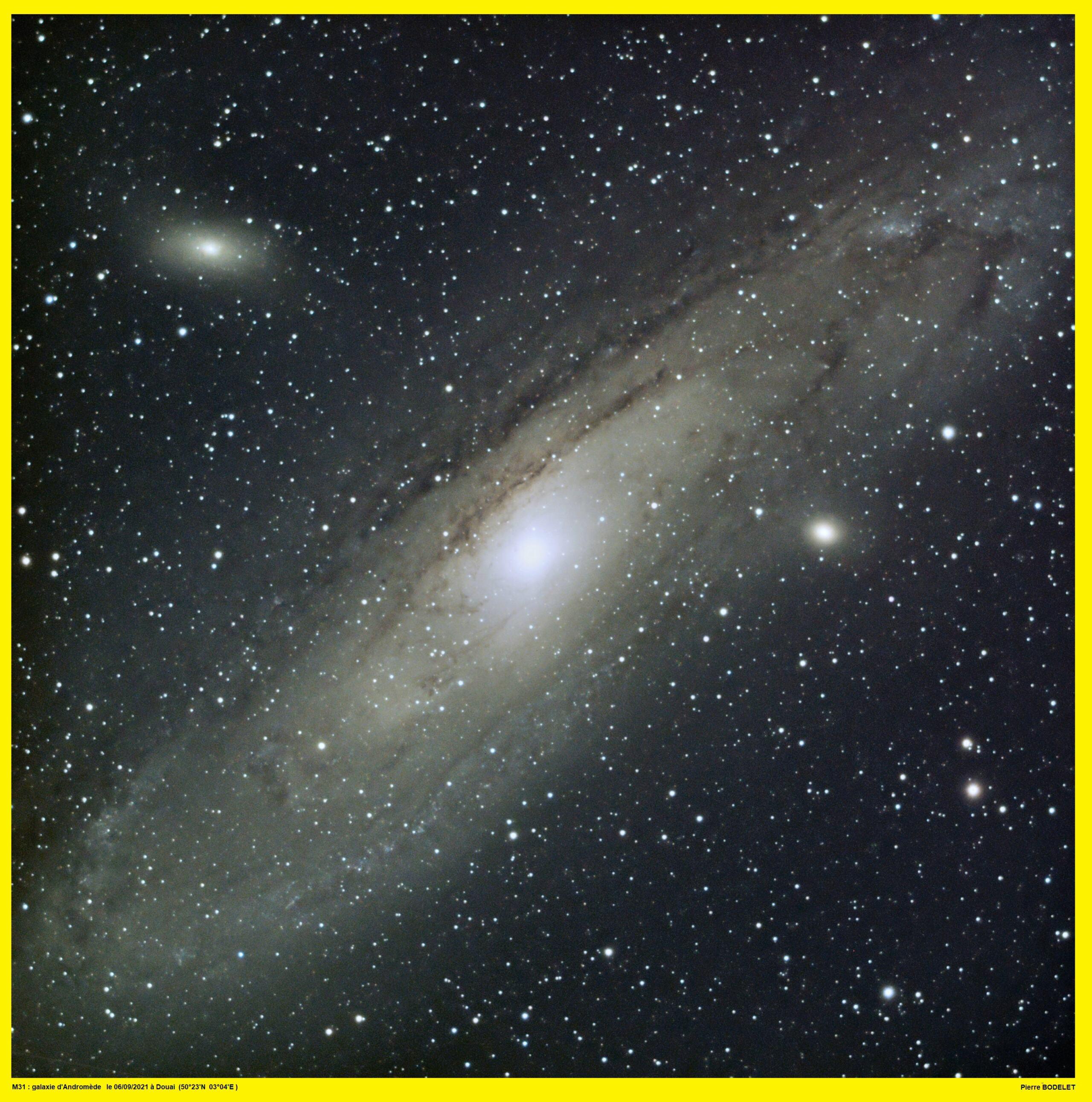 M31 en mode boulette !!! ... nouvelle image 20210923