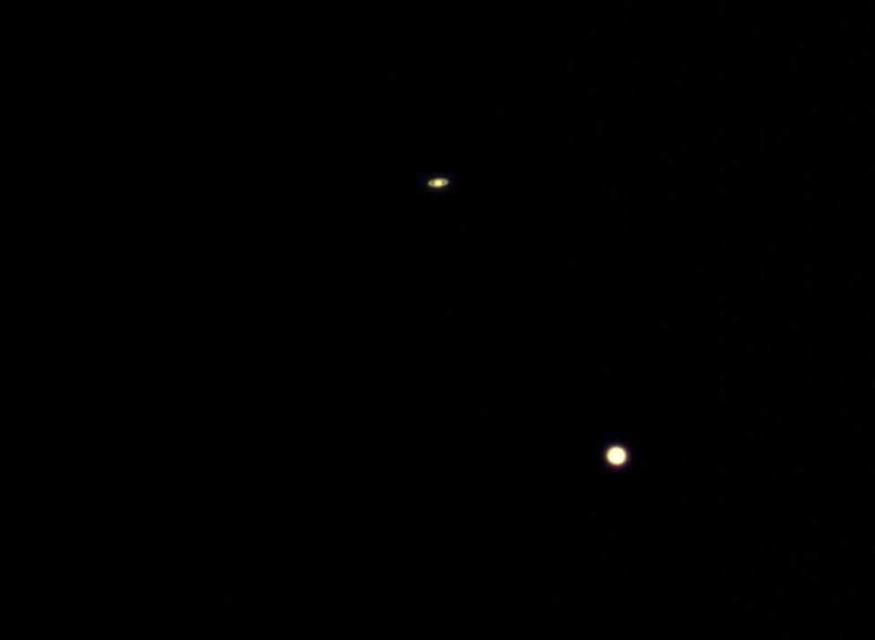 Conjonction Jupiter Saturne en mode ultra rapide ! Assemb10