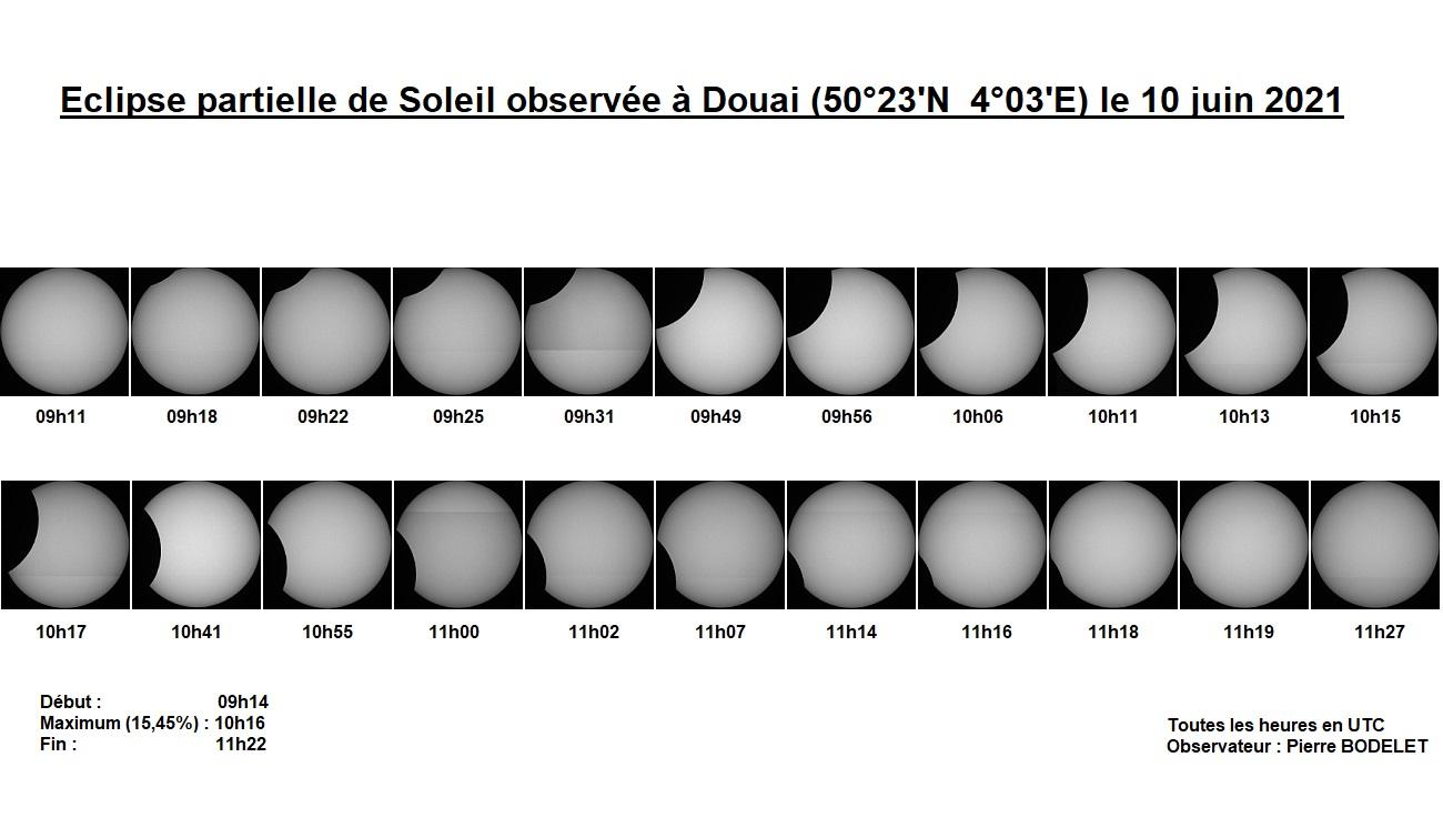 Eclipse partielle de Soleil du 10/06/2021 : plus une vidéo et vignettes  Eclips28