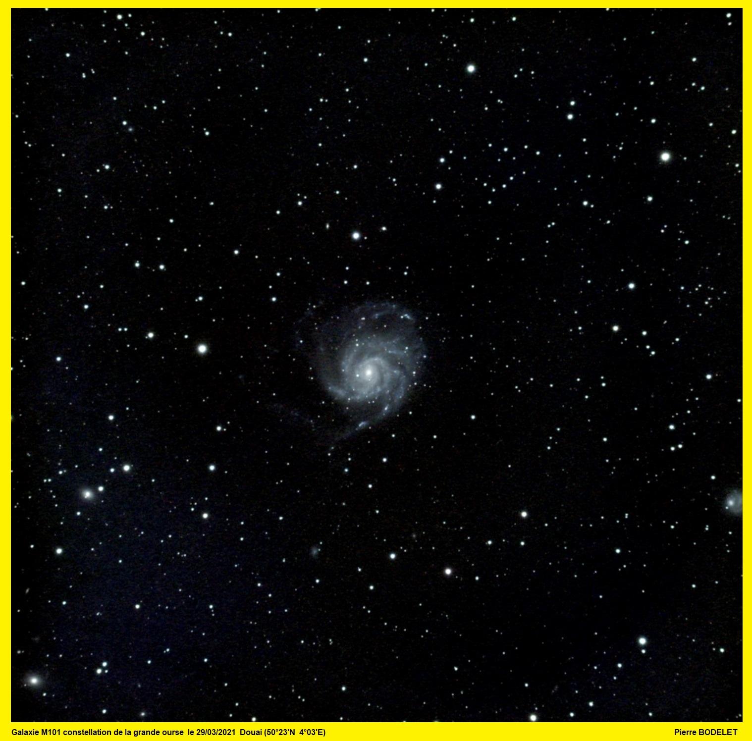 M101 ... et mon premier essai avec PixInsight ! M101-a10