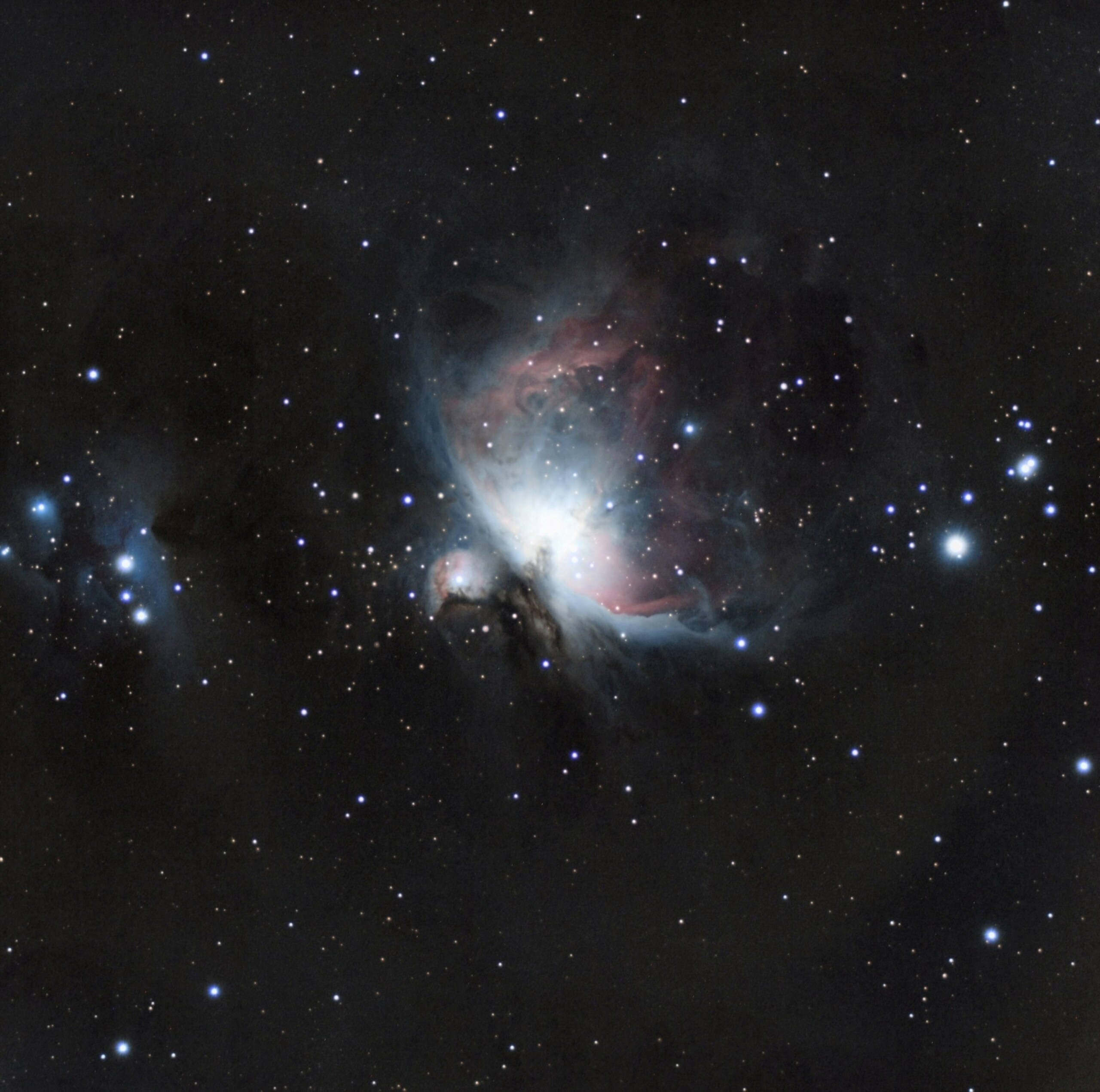 M42 : ma première photo CP à la cam astro : ZWO ASI533MC M42_ve10