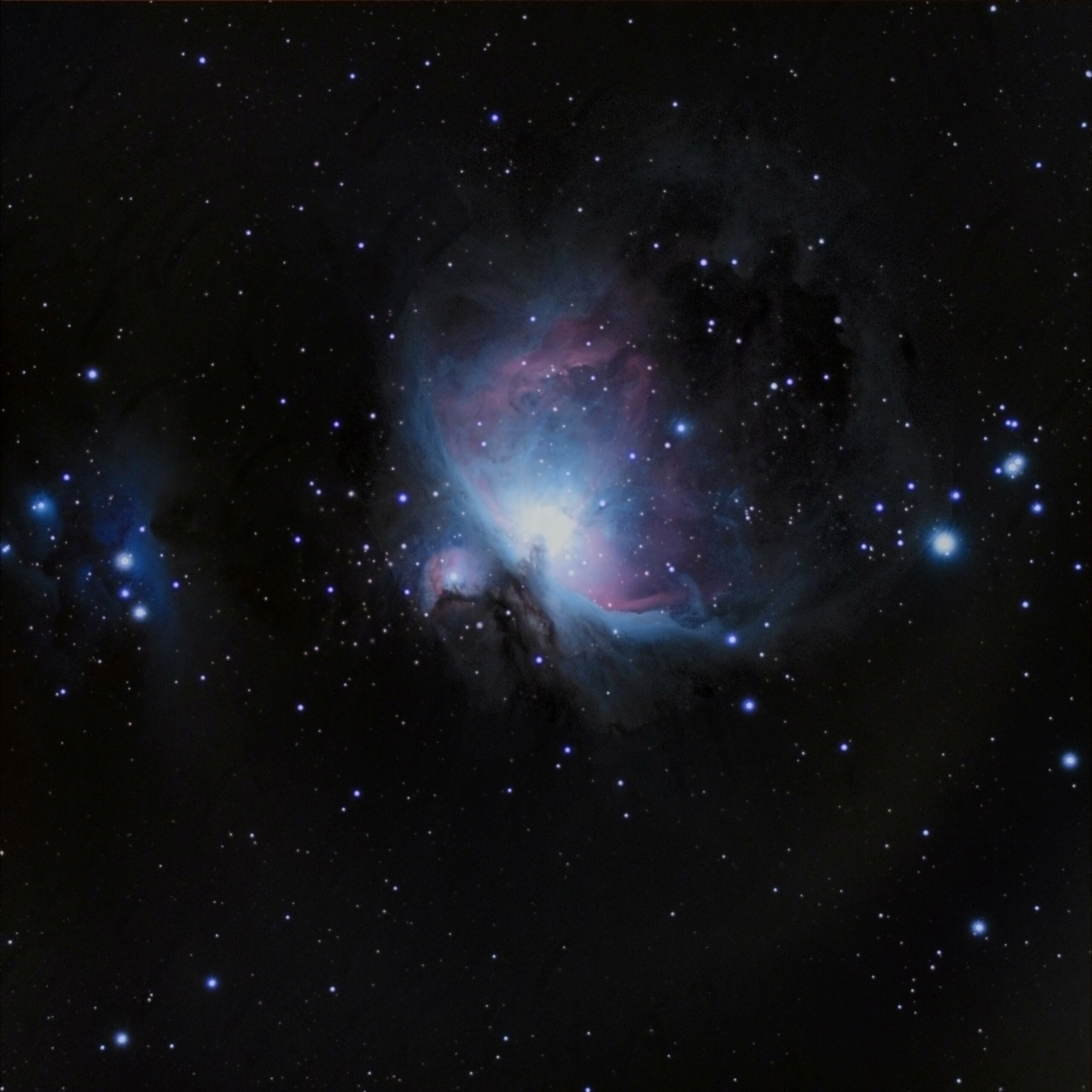 M42 : ma première photo CP à la cam astro : ZWO ASI533MC M42_ve11