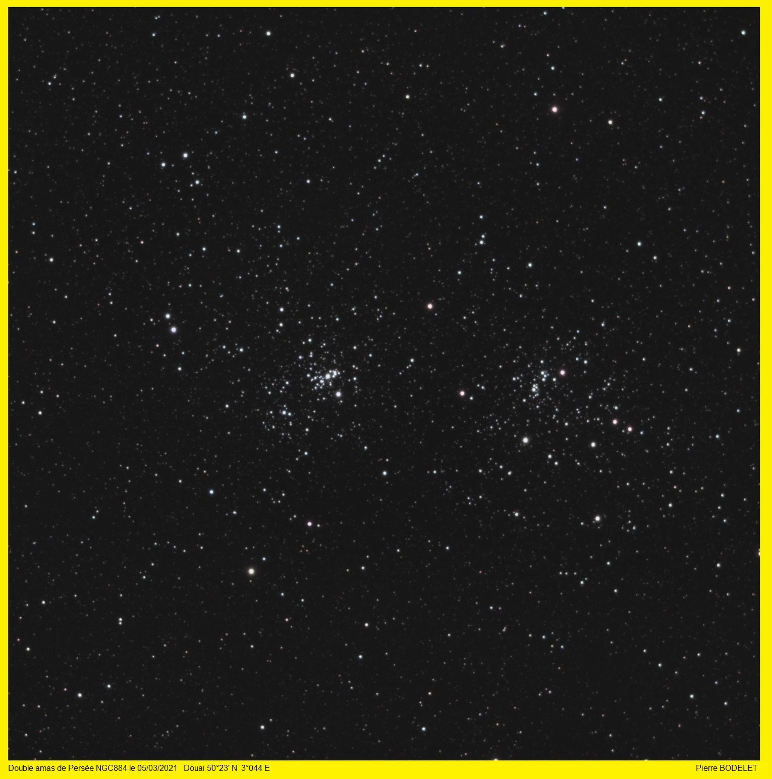 NGC884 double amas de Persée Ngc88410