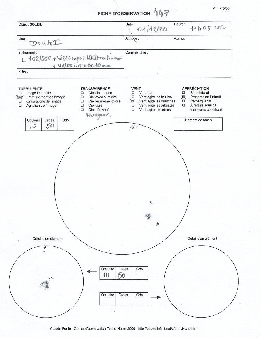 """Observation solaire en mode """"grab n go"""" avec une StaQuest 102R R44710"""
