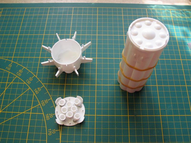 Saturne 1B et la mission Apollo 7 (AIRFIX 1/144) : le FINAL ! Satur108