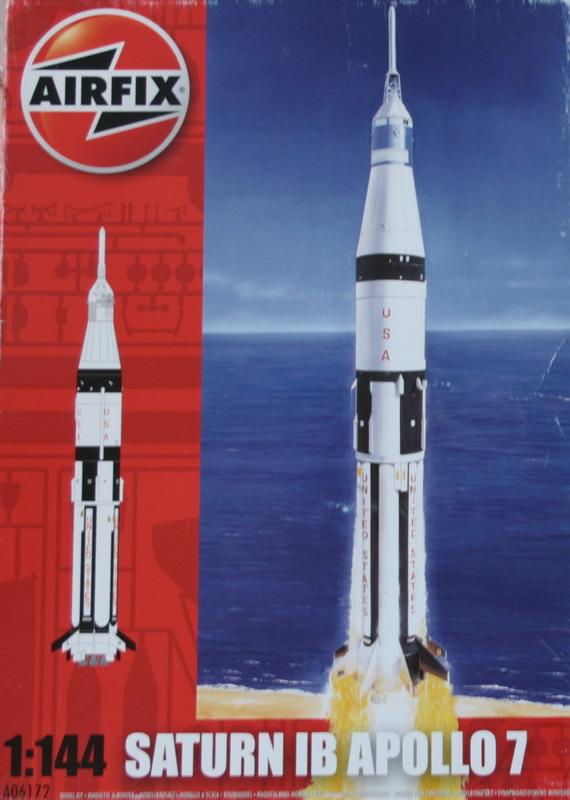 Saturne 1B et la mission Apollo 7 (AIRFIX 1/144) : le FINAL ! Saturn83