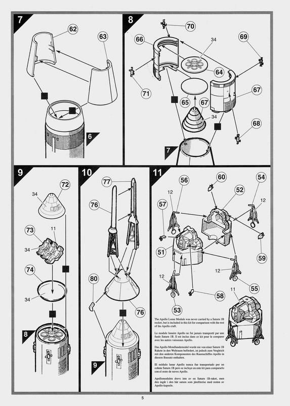 Saturne 1B et la mission Apollo 7 (AIRFIX 1/144) : le FINAL ! Saturn85