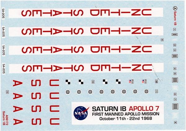Saturne 1B et la mission Apollo 7 (AIRFIX 1/144) : le FINAL ! Saturn87