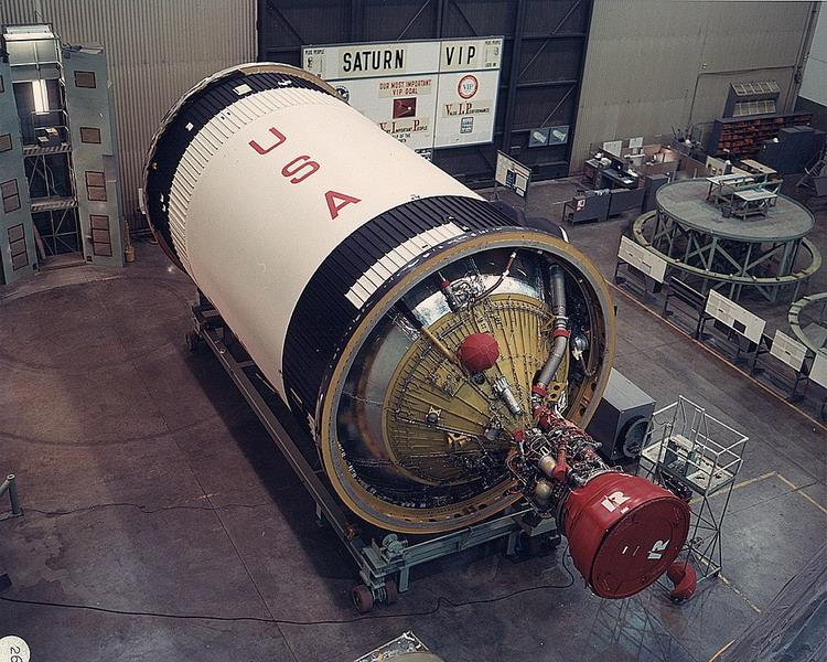 Saturne 1B et la mission Apollo 7 (AIRFIX 1/144) : le FINAL ! Saturn92