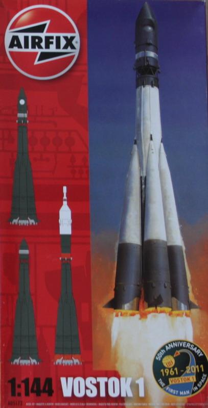 Lanceur R7 A1 porteur de Vostok 1 de chez AIRFIX au 1/144eme Vostok10