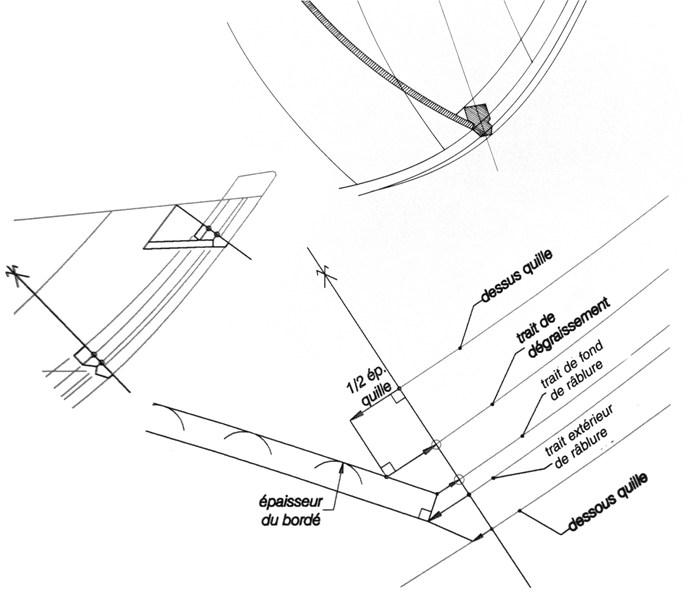Plan de formes, charpente et abaque. 8_rabl11
