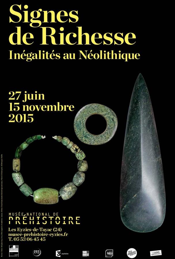 Signes de richesse - Inégalités au Néolithique Affich10