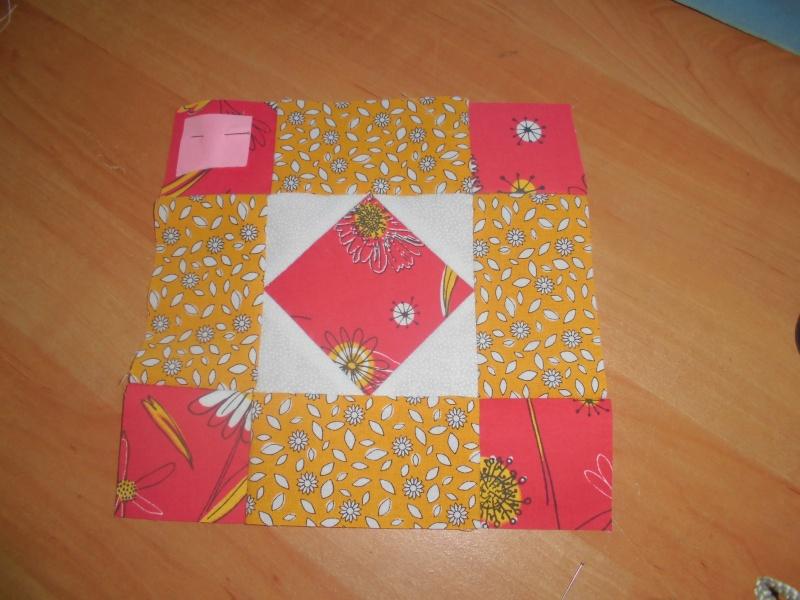 mon plaid de la revue patchwork facile  - Page 5 Bloc_113
