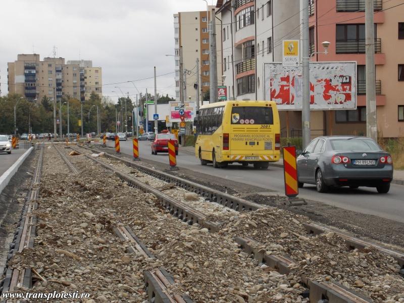 Traseul 102, etapa II: Intersecție Republicii - Gara de Vest Dscn0243