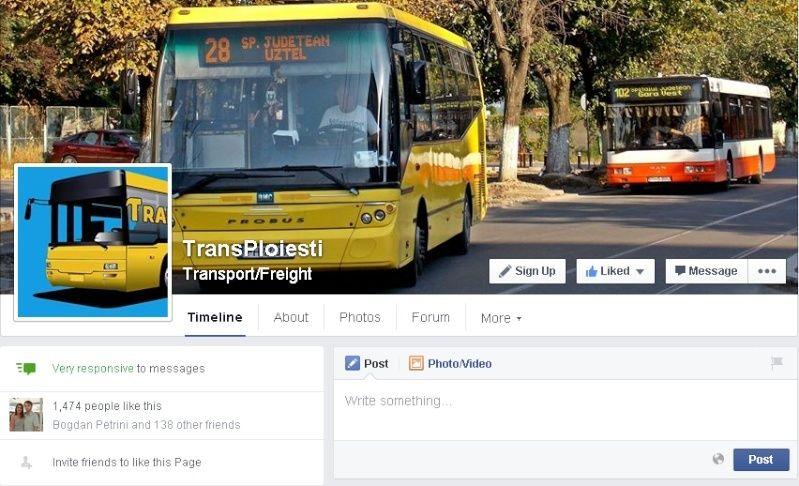 Pagina de facebook a forumului Tpfb10