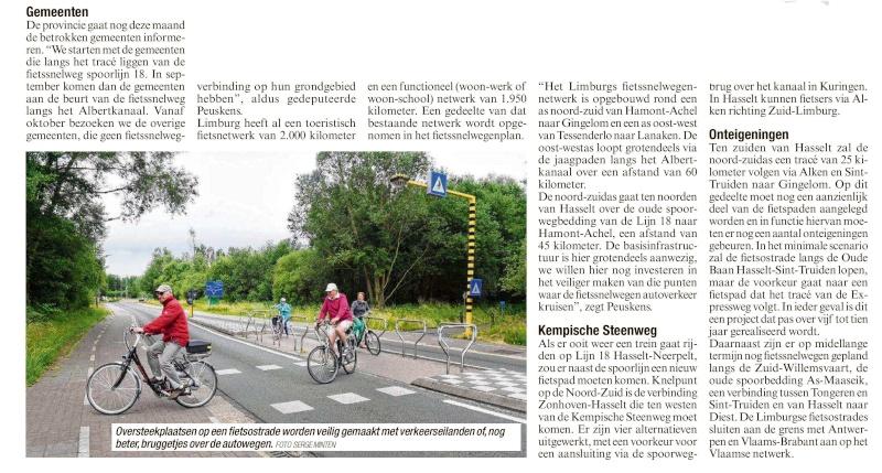 L018 Winterslag - Eindhoven (L18)  - Fietssnelweg Noord-Zuid-As Het_be11
