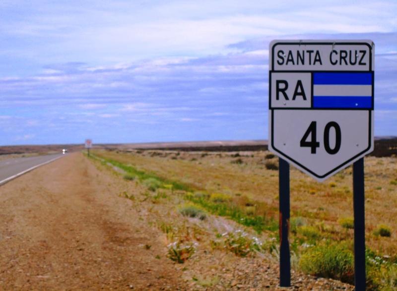 La Mítica ruta 40 en Argentina. Aspectos generales. Letrer10