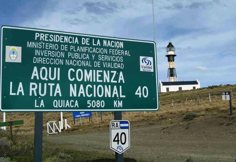 La Mítica ruta 40 en Argentina. Aspectos generales. Ruta-410